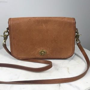 💥💥Beautiful Coach vintage leather bag 💥💥